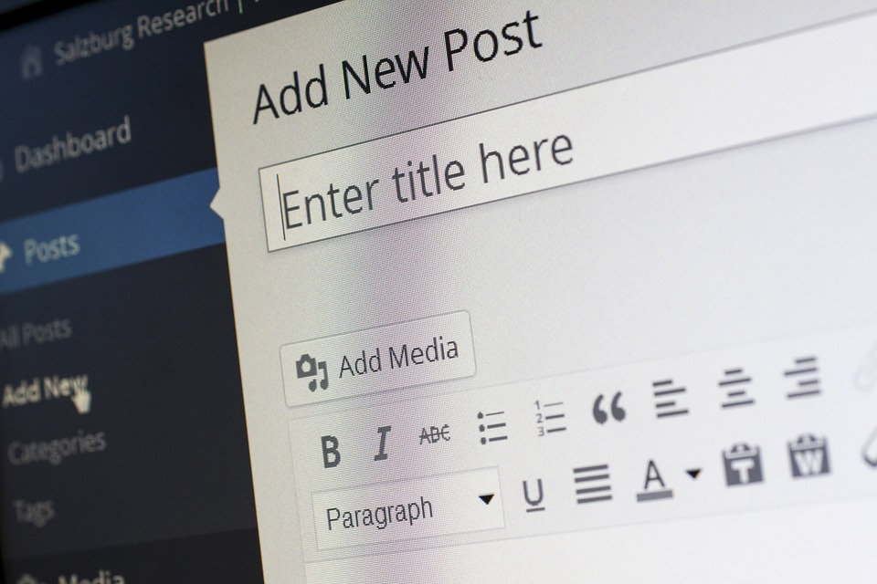 Five tips for first time bloggers